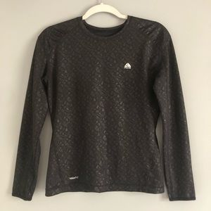 Nike Fit Dry ACG Long Sleeve Black Top Small